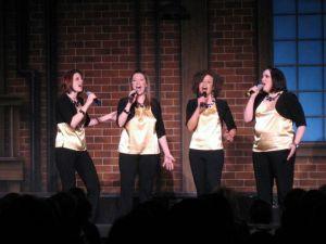 Epic, Birchmere, Harmony Sweepstakes, quartet, a capella, Harmony Inc.