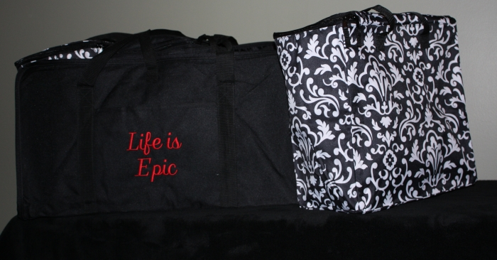 Life is Epic (XXL tote and three organizing bags)