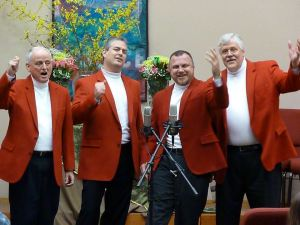 Shameless Barbershop quartet