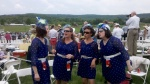 Epic, a Harmony Inc. quartet, performs the National Anthem at the Virginia Gold Cup