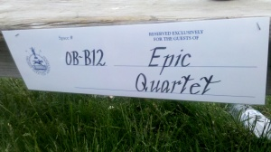 2012 Virginia Gold Cup, Epic quartet, a Harmony Inc.