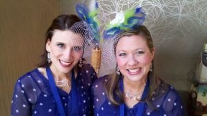 Epic, Harmony Inc., barbershop quartet, Anne Albright, Christina Lewellen, fascinators