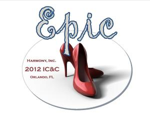 Epic quartet, Harmony Inc., IC&C 2012, barbershop harmony, acapella quartet