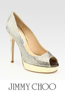 Jimmy Choo Crown pumps... a sight to behold!