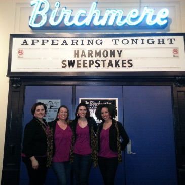 female barbershop quartet, Epic, 2012 Harmony Queens, Harmony Sweepstakes, Birchmere theater