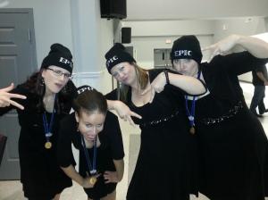 female barbershop quartet, Epic, 2012 Harmony Queens, a cappella harmony
